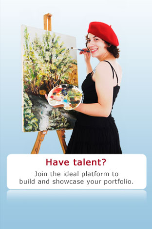 Have talent? Join the ideal platform to build and showcase your portfolio.