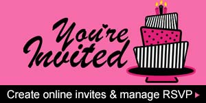Create Online Invites & Manage RSVP