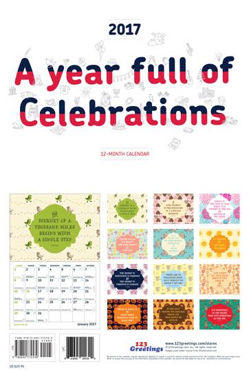 Year full of celebrations
